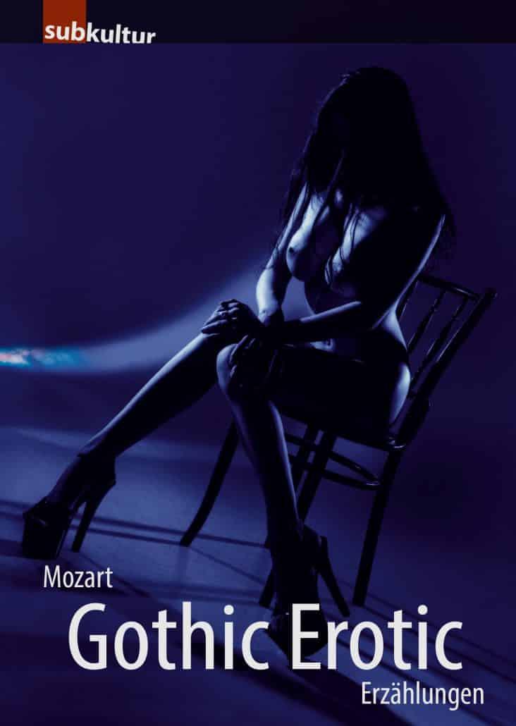 Buchcover Gothic Erotic von Mozart