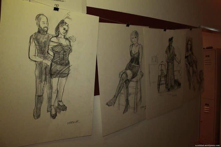 erotische Zeichnungen
