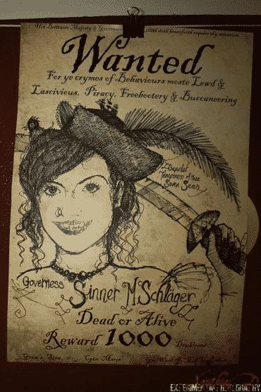 Wanted Plakat Sina
