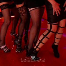 Sexy Beine in Sexy Strümpfen