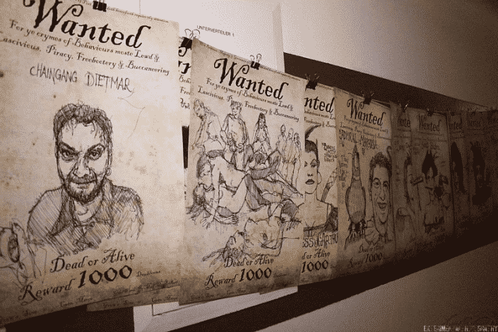 Wanted Plakat