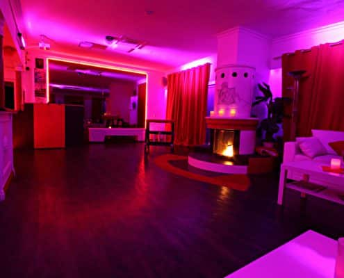 Lounge Lillith Club Lounge mit offenem und Kamin Lust/Strafbock